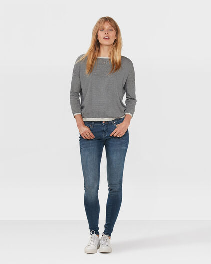 DAMES SUPER SKINNY SUPER STRETCH JEANS Blauw