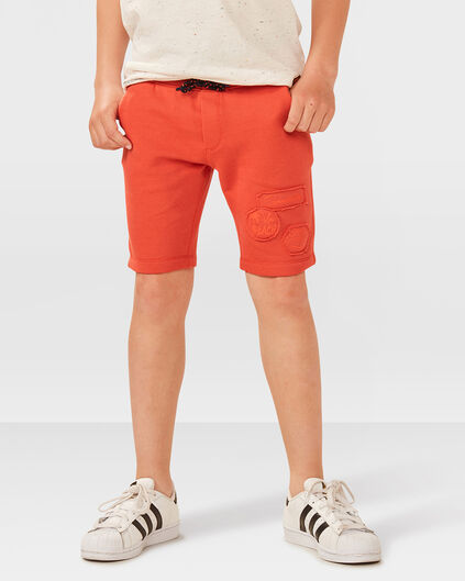 JONGENS SWEAT SHORT Oranje