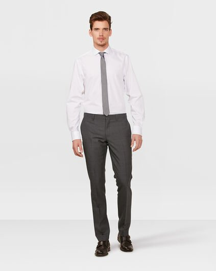 HEREN ULTRA SLIM FIT PANTALON DENVER Grijs