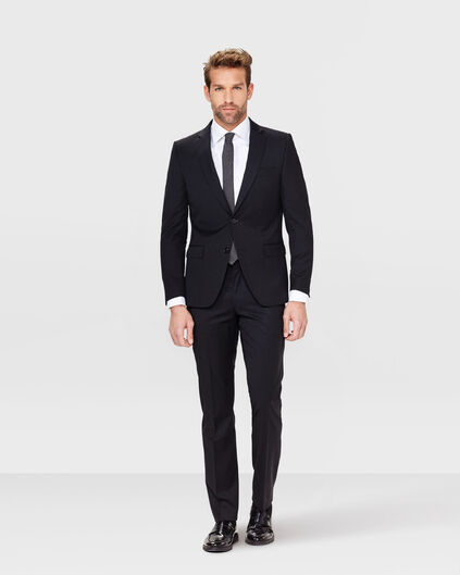 HEREN SLIM FIT PANTALON NOS Zwart