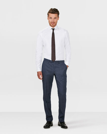 HEREN SLIM FIT PANTALON BERLIN Blauw