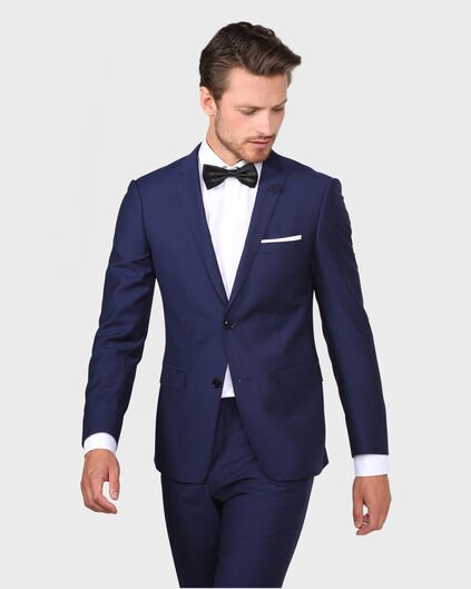 HEREN ULTRA SLIM FIT BLAZER TAYFUN Blauw