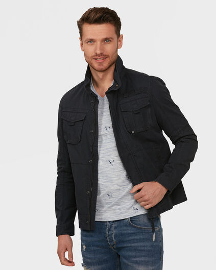 HEREN WORKER JACKET Donkerblauw