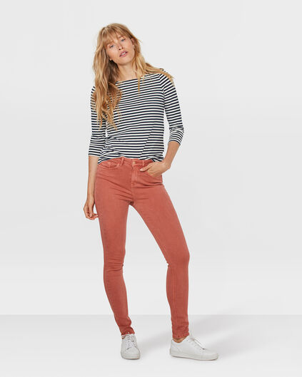 DAMES HIGH RISE SKINNY JEANS Roze