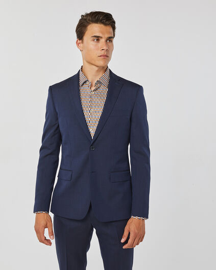 HEREN ULTRA SLIM FIT BLAZER TOM Marineblauw