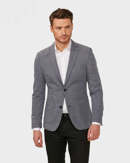 HEREN SLIM FIT BLAZER EMPRA Blauw