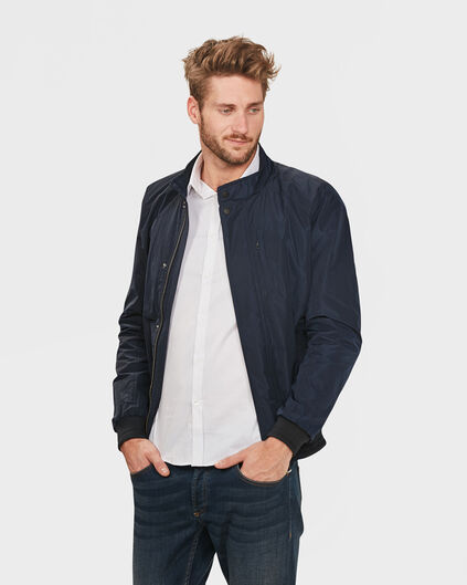HEREN WIND JACKET Indigo