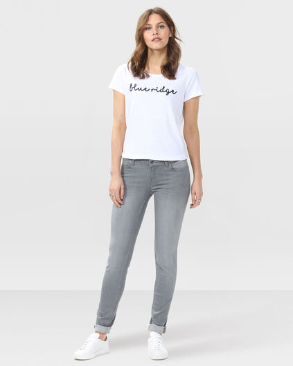 DAMES MID RISE SKINNY RECOVERY JEANS Grijs