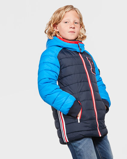 JONGENS COLORBLOCK BAD BOYS JAS Donkerblauw