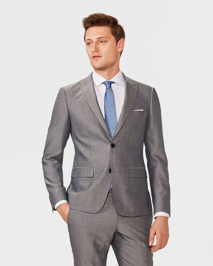 HEREN ULTRA SLIM FIT BLAZER WARRICK Grijs