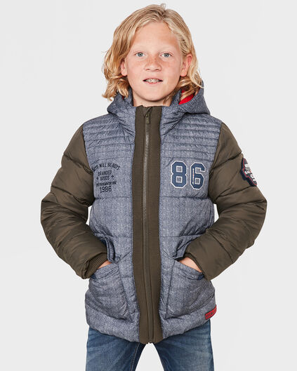 JONGENS TWILL LOOK BAD BOYS JAS Donkerblauw