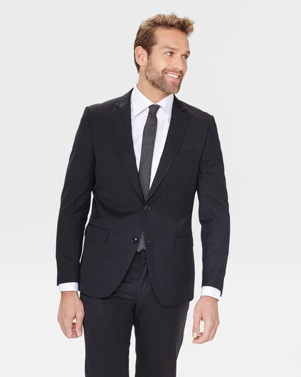 HEREN  SLIM FITBLAZER TOM Zwart