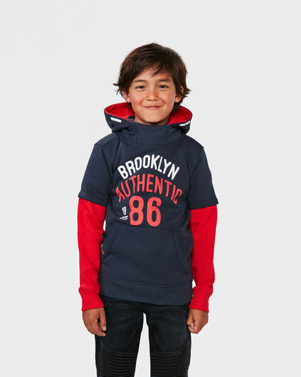 JONGENS BROOKLYN SWEATER Donkerblauw
