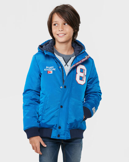 JONGENS BAD BOYS BLUE ZIP JACKET Blauw