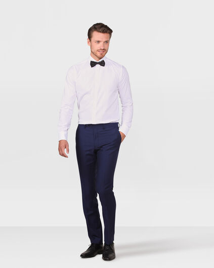 HEREN SLIM FIT PANTALON TAYFUN Blauw