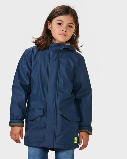 JONGENS RAINCOAT JACKET Marineblauw