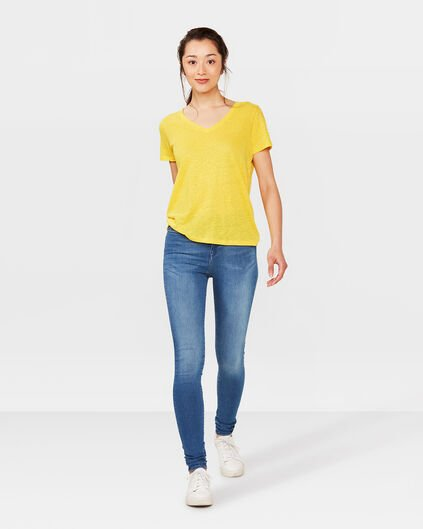 DAMES HIGH RISE SKINNY SUPER STRETCH JEANS Blauw