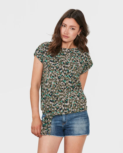 DAMES ANIMAL PRINT T-SHIRT All-over print