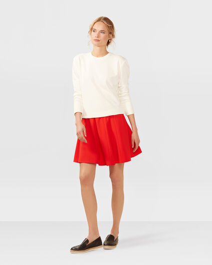 DAMES A-LINE ROK Rood