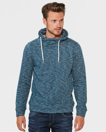 HEREN BLENDED COL SWEATER Petrol