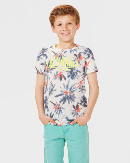 JONGENS PALM BEACH T-SHIRT Wit