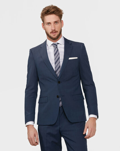 HEREN SLIM FIT BLAZER ELLIOT Blauw