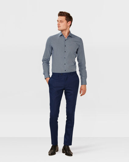 HEREN SLIM FIT PANTALON WYATT Felblauw