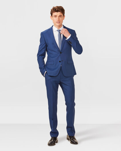 HEREN ULTRA SLIM FIT PANTALON CLAUDE Blauw