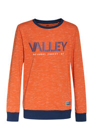 Jongens valley T-shirt_Jongens valley T-shirt, Oranje
