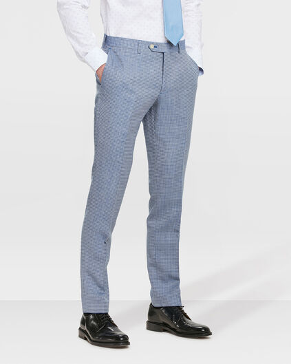 HEREN SLIM FIT PANTALON HIGHBURY Lichtblauw