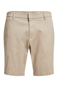 Heren relaxed fit chinoshort_Heren relaxed fit chinoshort, Beige