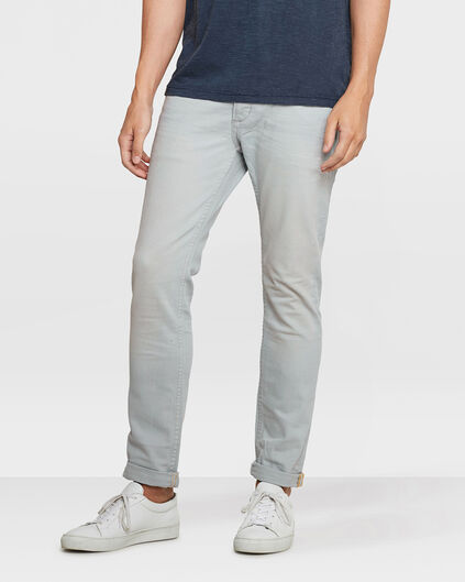 PANTALON SLIM TAPERED HOMME Bleu pastel