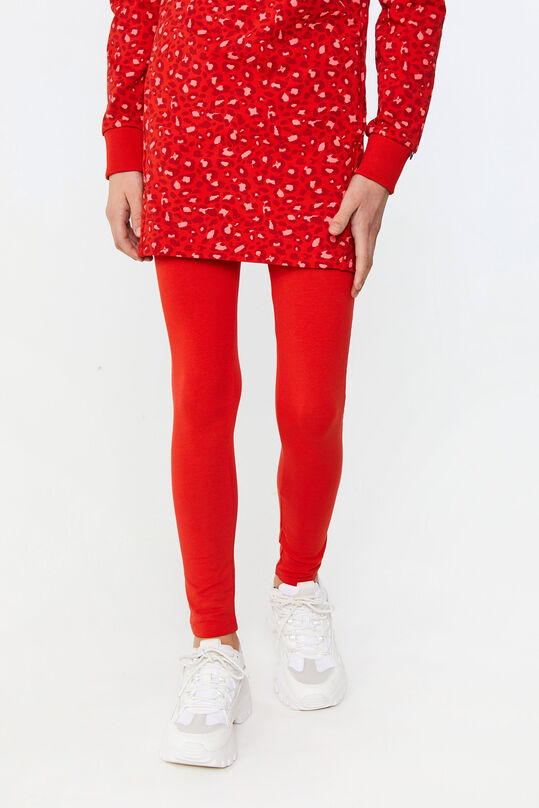 Legging skinny fit fille Rouge vif
