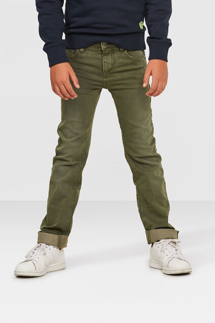 JONGENS SKINNY FIT JOG DENIM Groen