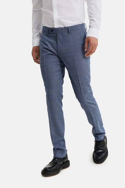 Heren slim fit pantalon, Jackson Donkerblauw