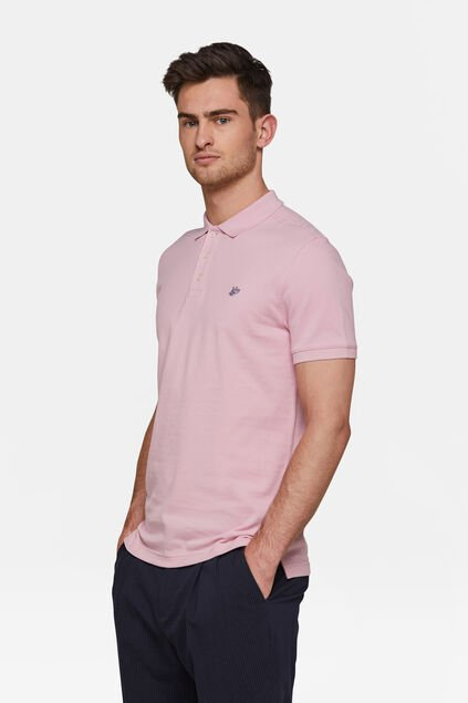 Heren organic cotton pique polo Oudroze