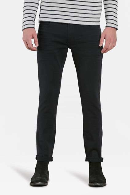 HEREN SLIM TAPERED SUPERSTRETCH JEANS Zwart