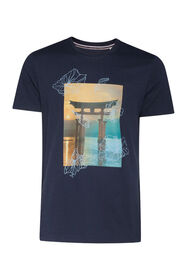 Heren Blue Ridge T-shirt_Heren Blue Ridge T-shirt, Marineblauw