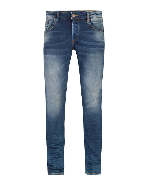 JEANS REGULAR STRAIGHT HOMME Bleu