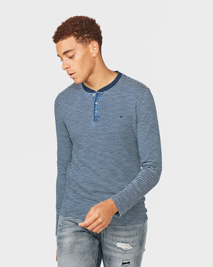 HEREN BLUE RIDGE STRIPE SHIRT Indigo