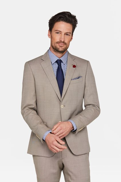 HEREN SLIM FIT BLAZER CUTLER Beige
