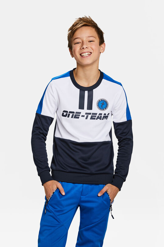 Jongens one-team sweater Wit