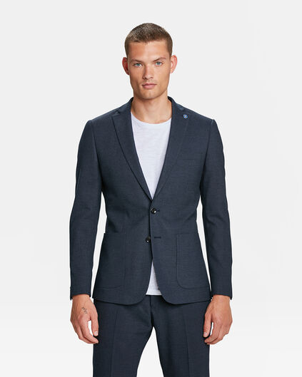 HEREN SLIM FIT BLAZER DEXTER Marineblauw