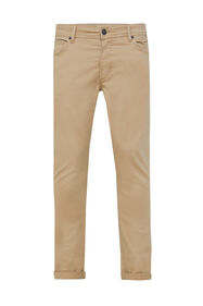 Heren slim tapered broek_Heren slim tapered broek, Beige