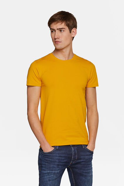 HEREN ORGANIC COTTON T-SHIRT Geel