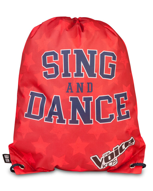 SAC A DOS THE VOICE KIDS GARÇON Rouge vif