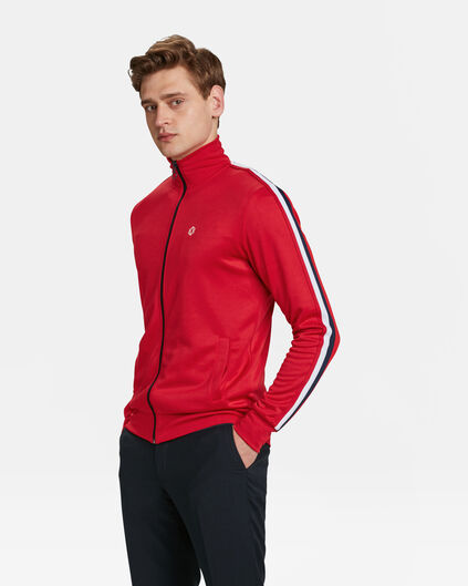 VESTE SPORTY DETAIL HOMME Rouge vif