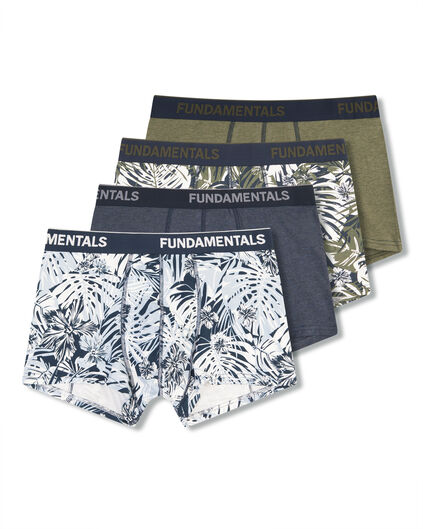 HEREN BOXERSHORTS, 4-PACK Multikleur