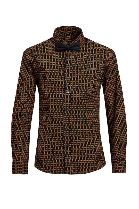 Jongens regular fit overhemd met print All-over print