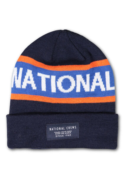 Jongens national beenie Marineblauw